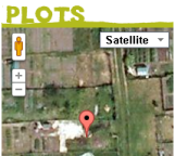 Plots on the map