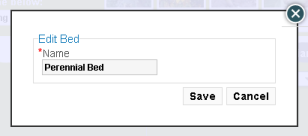 Bed rename